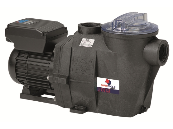 Pompe filtration Superpool II VS 1.5 cv mono - by Hayward - à vitesse programmable -