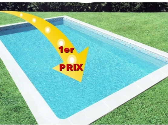 Piscine 6x3 good piscine bloc coffreur x mtres sans for Prix piscine 6x3